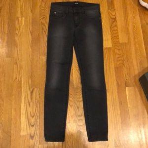 Hudson black krista super skinny jeans